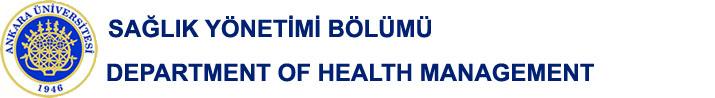 Sağlık Yönetimi Bölümü